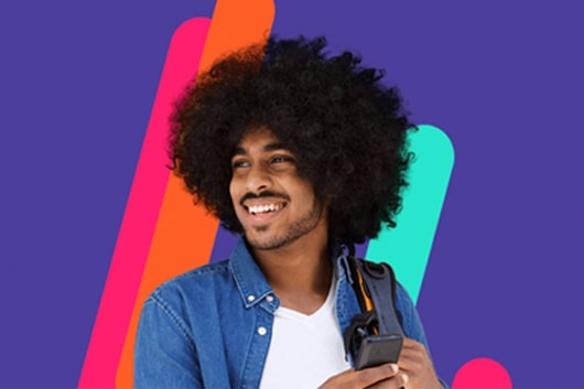 SuperGasBras - Homem no celular
